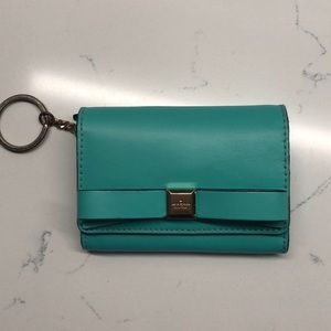 Kate Spade Keychain Wallet Turquoise